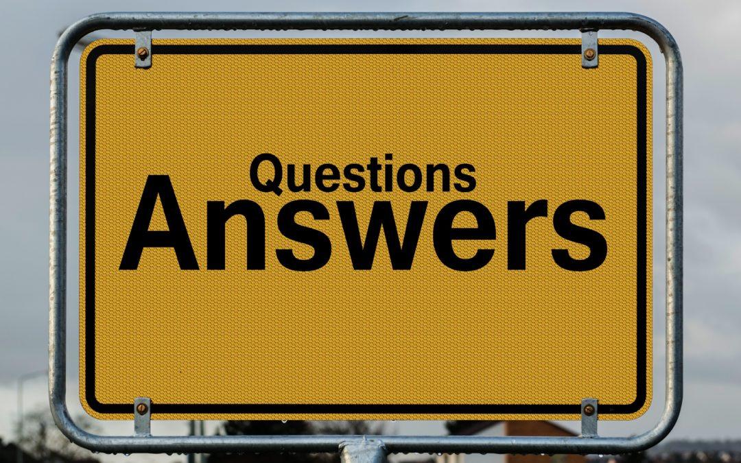 Veel gestelde vragen!